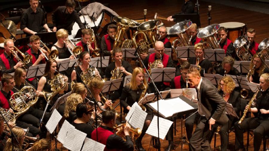 Musica in Gloria met Fanfare Joost Wiersma en Gloria Deo